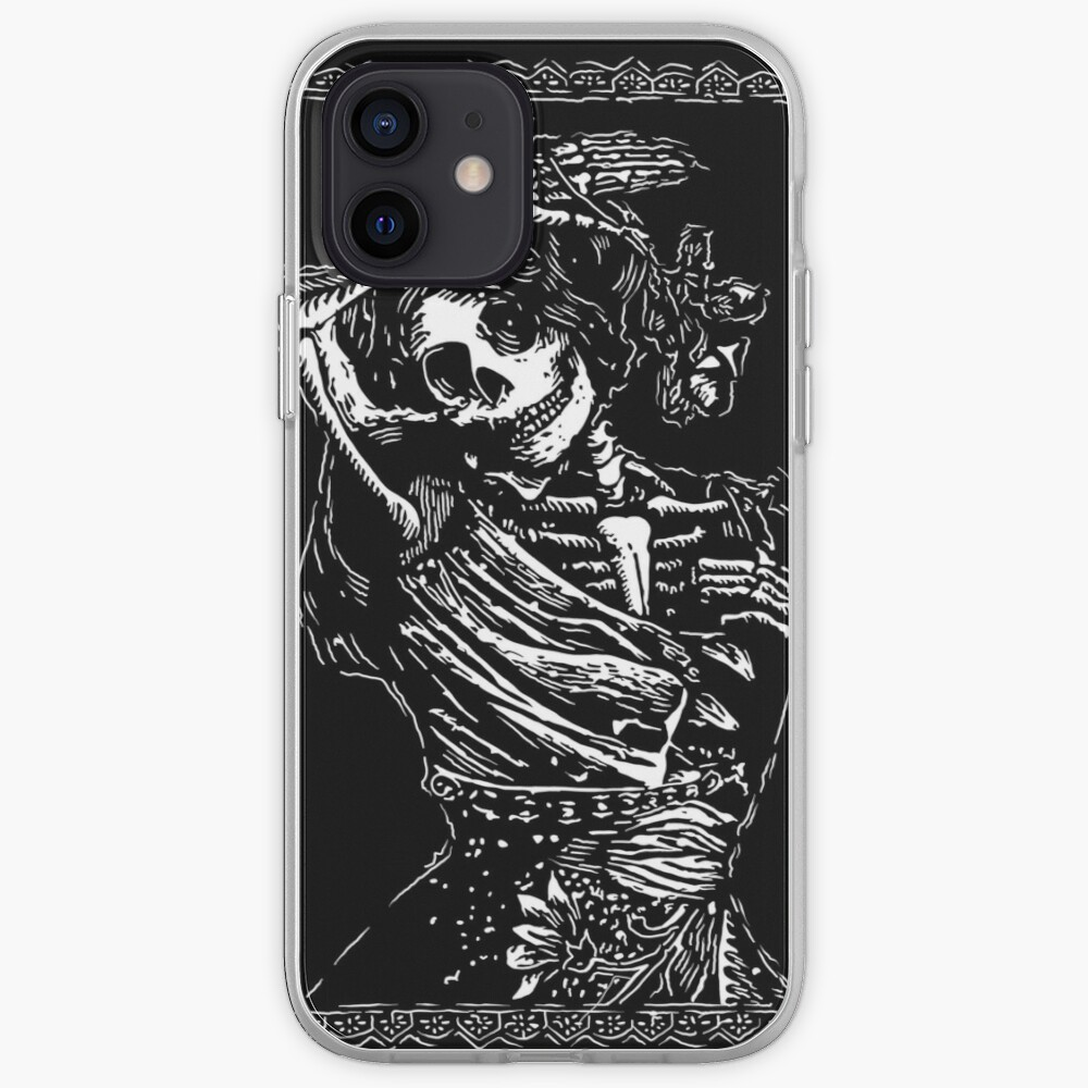 Day of the Dead - Queen of Clubs iPhone Case & Cover