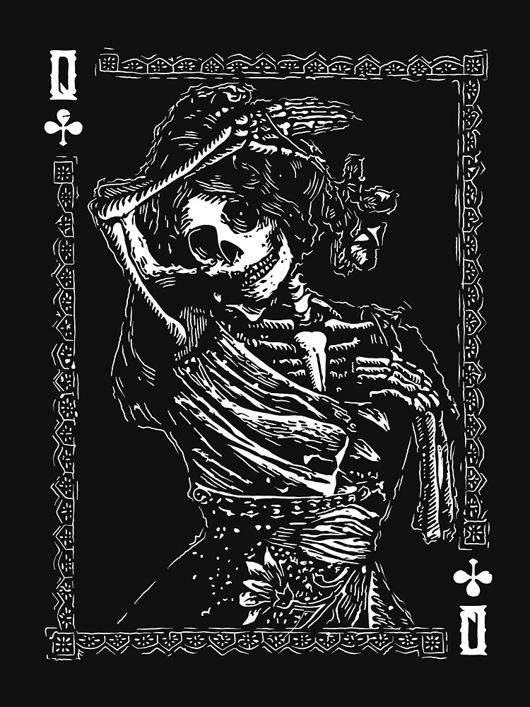 Day of the Dead - Queen of Clubs by fullrangepoker