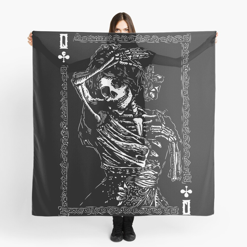 Day of the Dead - Queen of Clubs Scarf
