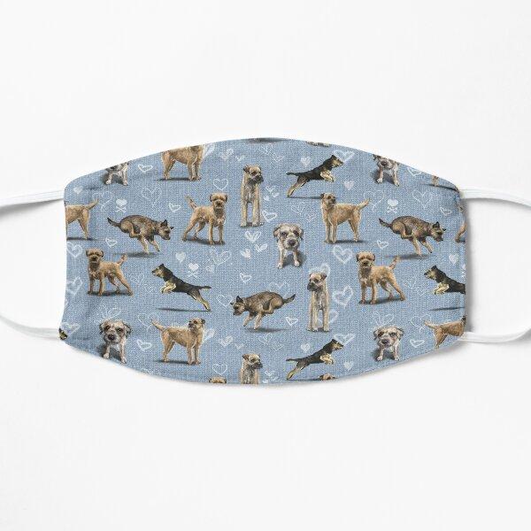 The Border Terrier Flat Mask