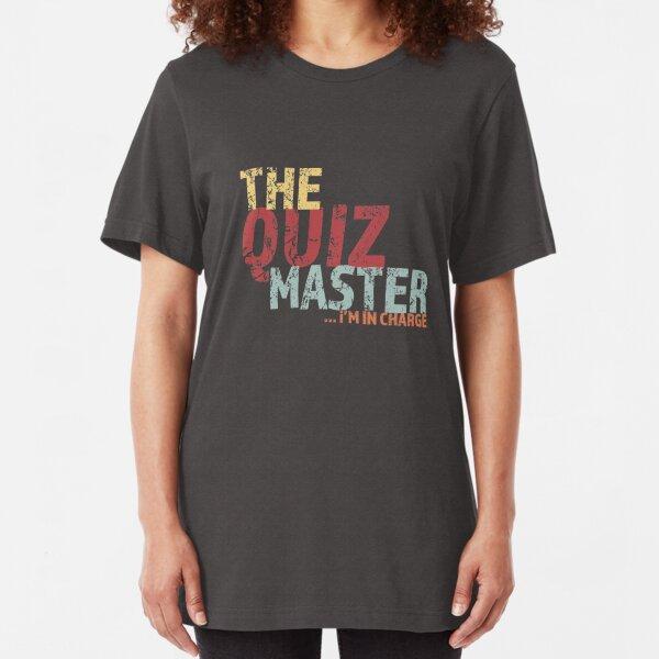 Quiz master Pub Quiz Team Slim Fit T-Shirt