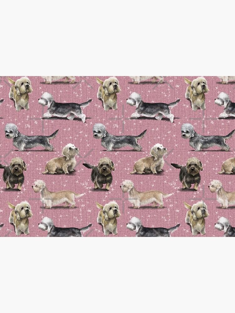 The Dandie Dinmont Pink by elspethrose