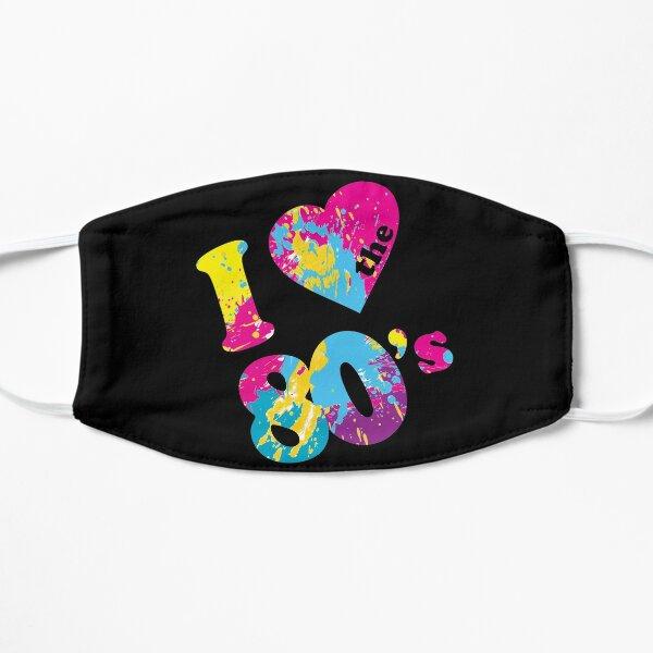 I Love the 80's Flat Mask
