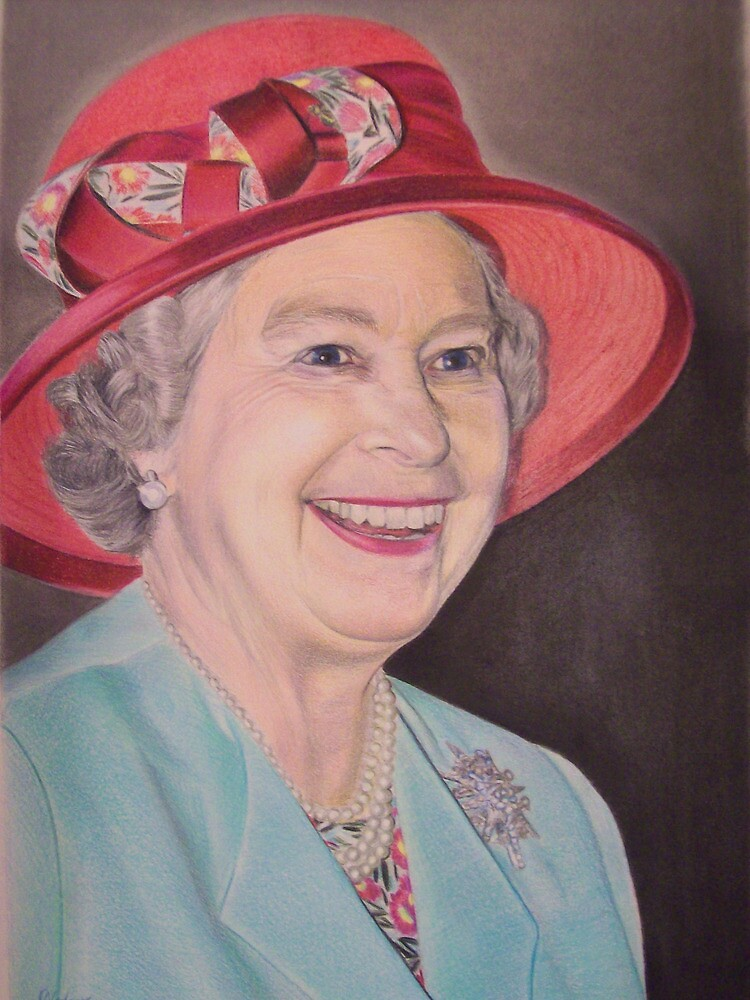 Queen Elizabeth II Portrait by Samantha Norbury