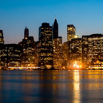 Manhattan by piasek