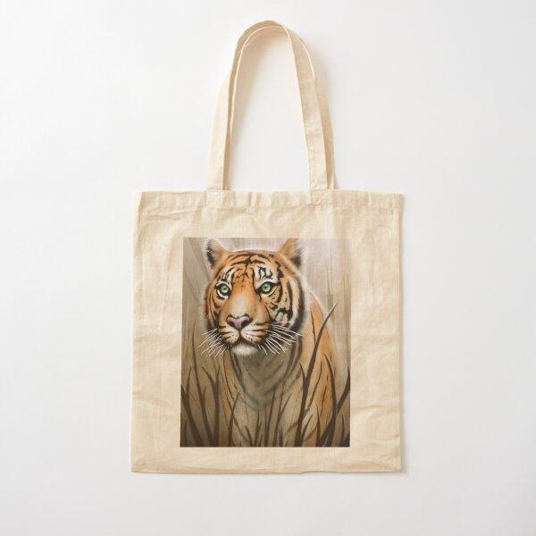 Tiger Cotton Tote Bag