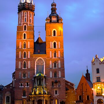 Mariacki Church by piasek