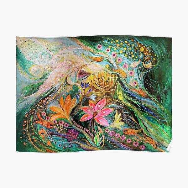 Träume von Chagall. Die Himmelsgeige Poster
