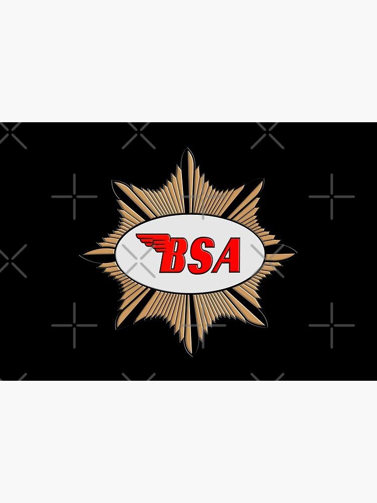 «Logo de BSA Motorcycles» par Salocin