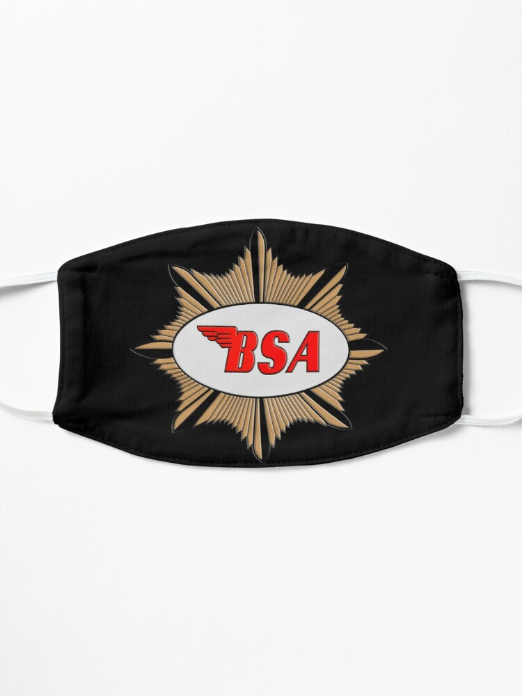 Masque ''Logo de BSA Motorcycles': autre vue
