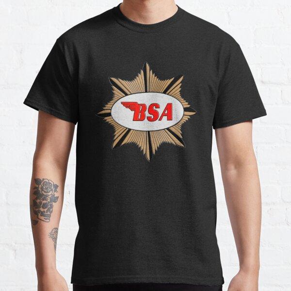 Logotipo de BSA Motorcycles Camiseta clásica