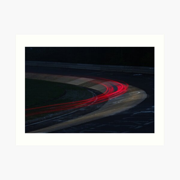 Karussell by night #1 Art Print