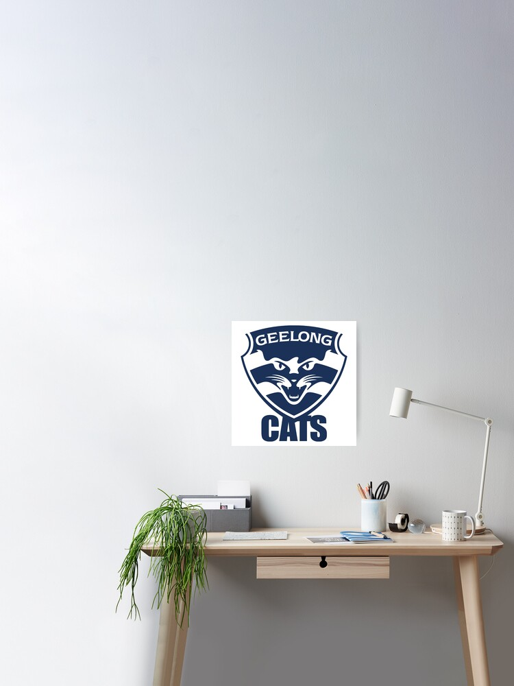 Geelong Cats Afl Poster By Dekss Shop Redbubble