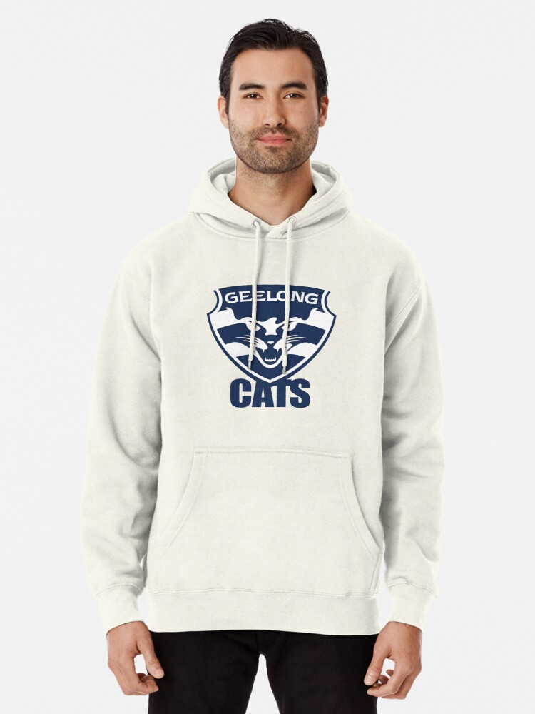 Geelong Cats Afl Pullover Hoodie By Dekss Shop Redbubble