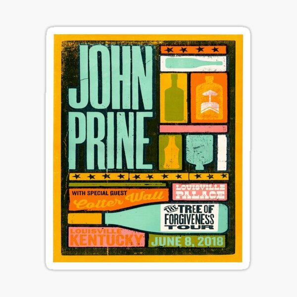 John Prine - Country Music Singer / Folk Music Singer Sticker