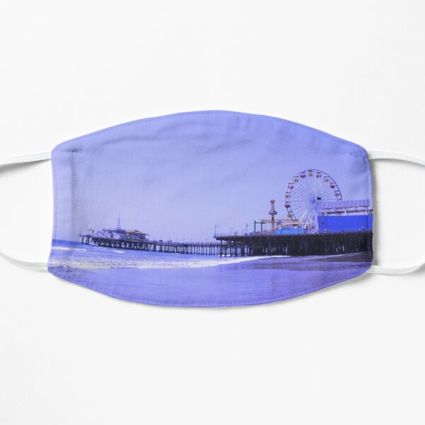 Purple Haze Santa Monica Pier Mask