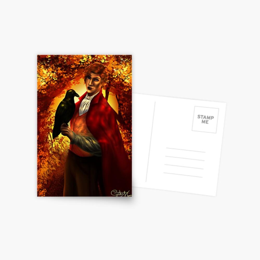 Rook - An Enchantment of Ravens Postcard