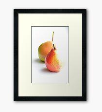 lovely pears 1 Framed Print
