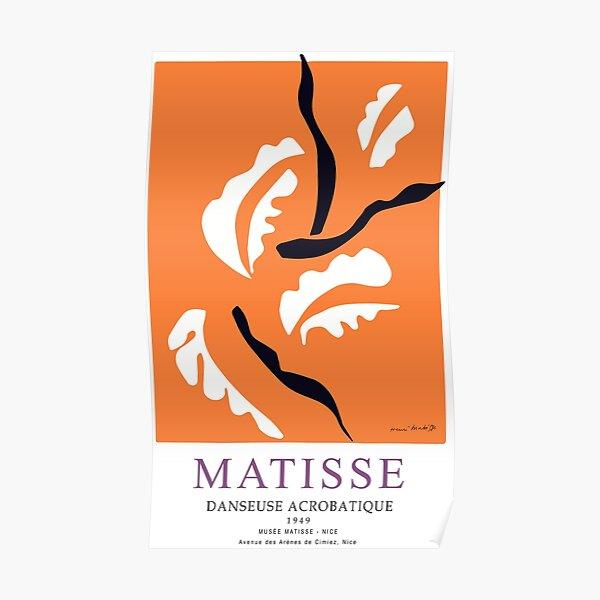 Henri Matisse Danseuse Acrobatique 1949 Oeuvre d'art mural, Impressions, Affiches, T-shirts, Hommes, Femmes, Enfants Poster