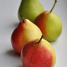 lovely pears 2 by Kyoko Beaumont
