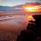 Spray Point sunset by Stephanie Johnson