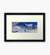 crinkles climber panorama2 Framed Print