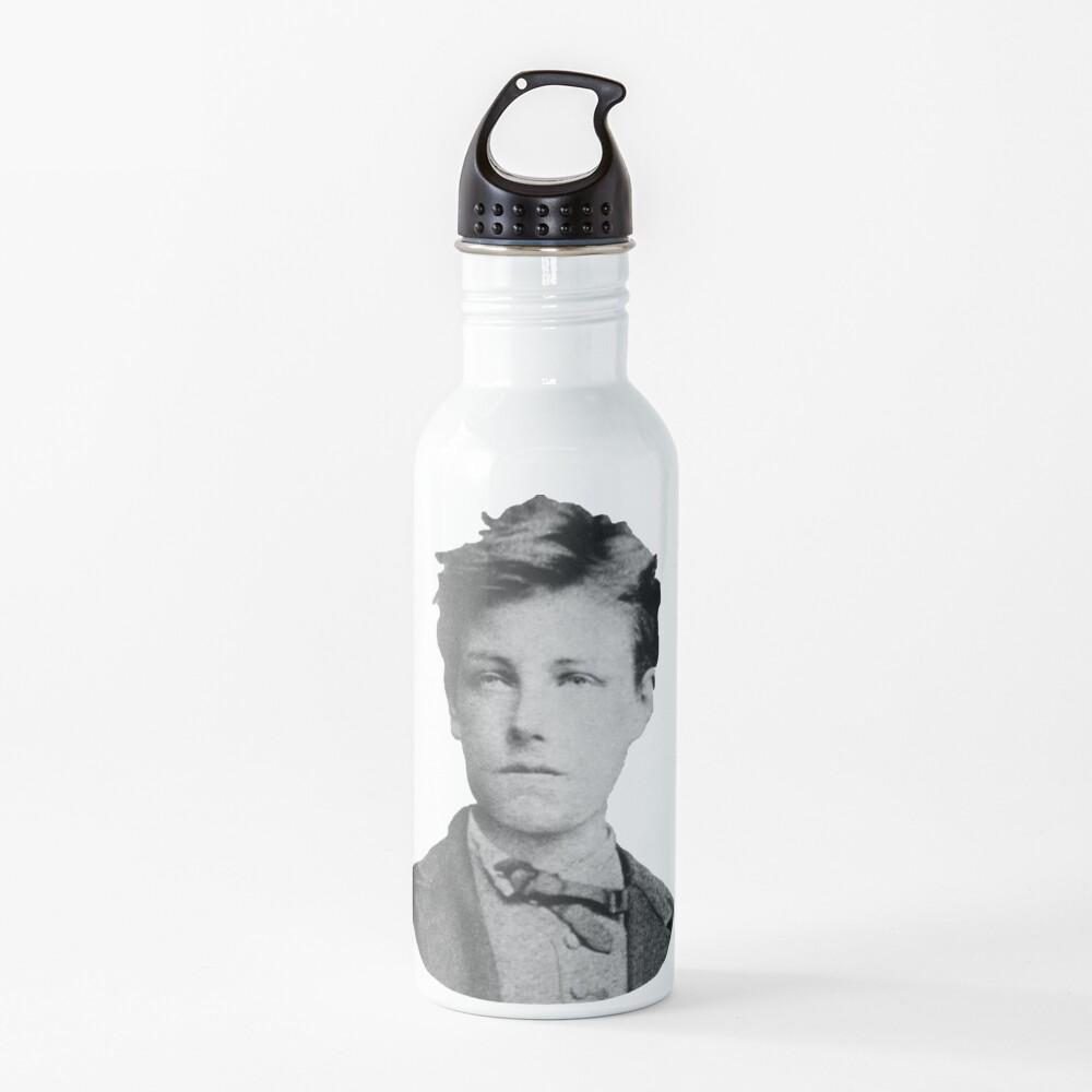 Arthur Rimbaud Water Bottle