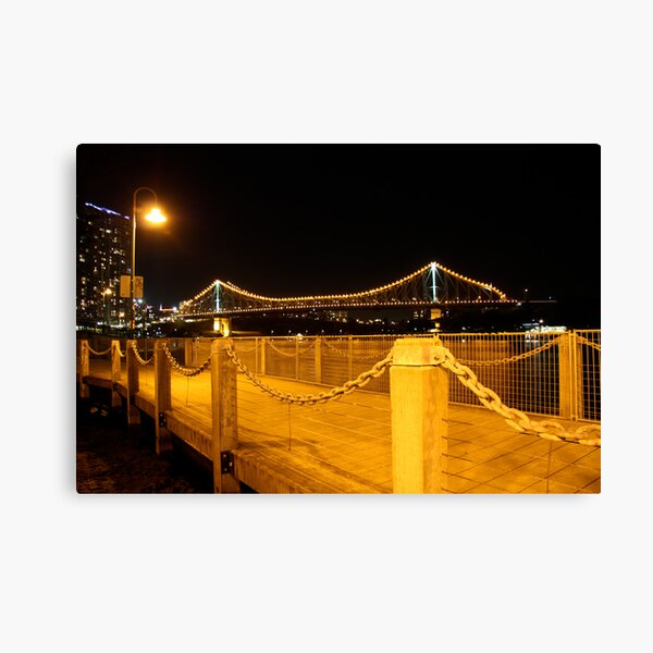 The Story Bridge Canvas Print