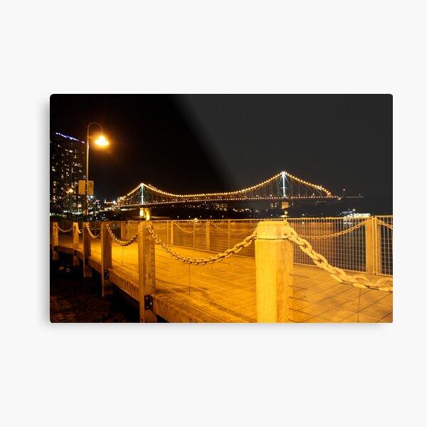 The Story Bridge Metal Print
