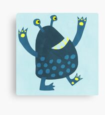 Little Monster Canvas Print