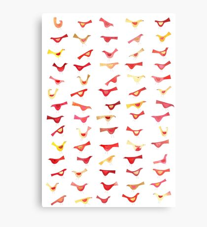 An Army of Undisciplined Birds Metal Print