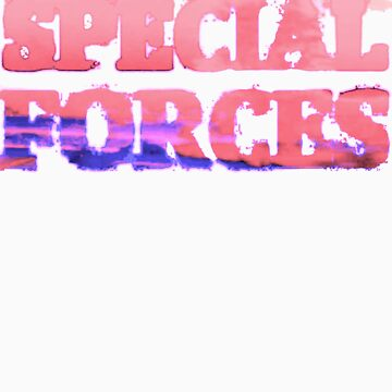Special Forces T-shirt by lettucefiends