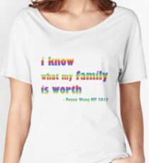 Penny Wong qanda quote Women's Relaxed Fit T-Shirt