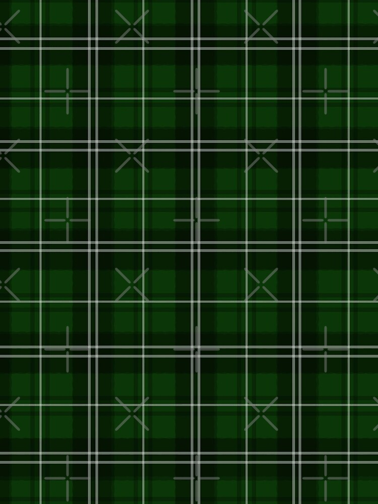 St. Patrick's Day - Green Plaid Pattern by ValentinaHramov