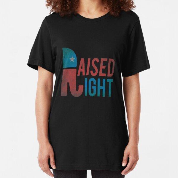 Raised Right Vintage Republican Slim Fit T-Shirt