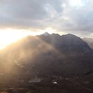 Liathach Evening Rays, Fisherfield & Torridon by ScotLandscapes