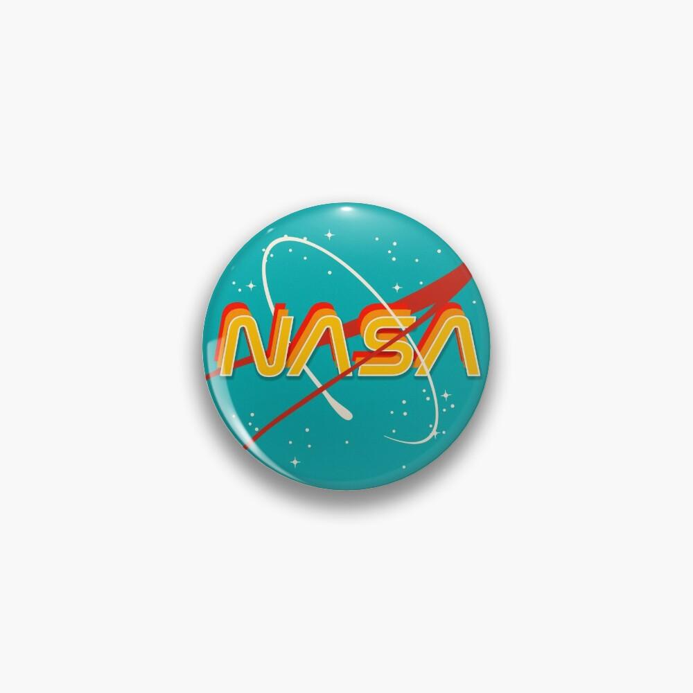 NASA RETRO Pin