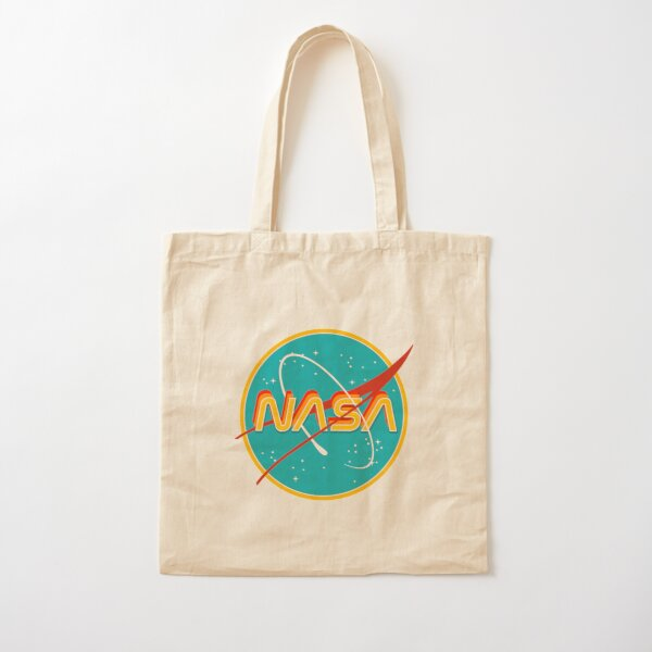 NASA RETRO Cotton Tote Bag