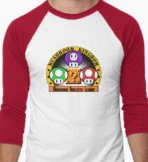 Mushroom Roulette League Men's Baseball ¾ T-Shirt