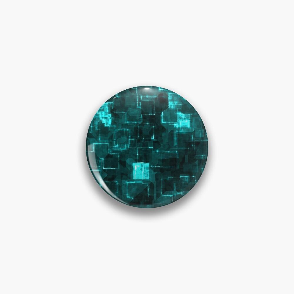 Digital Aqua Glimmer Tiles Pin