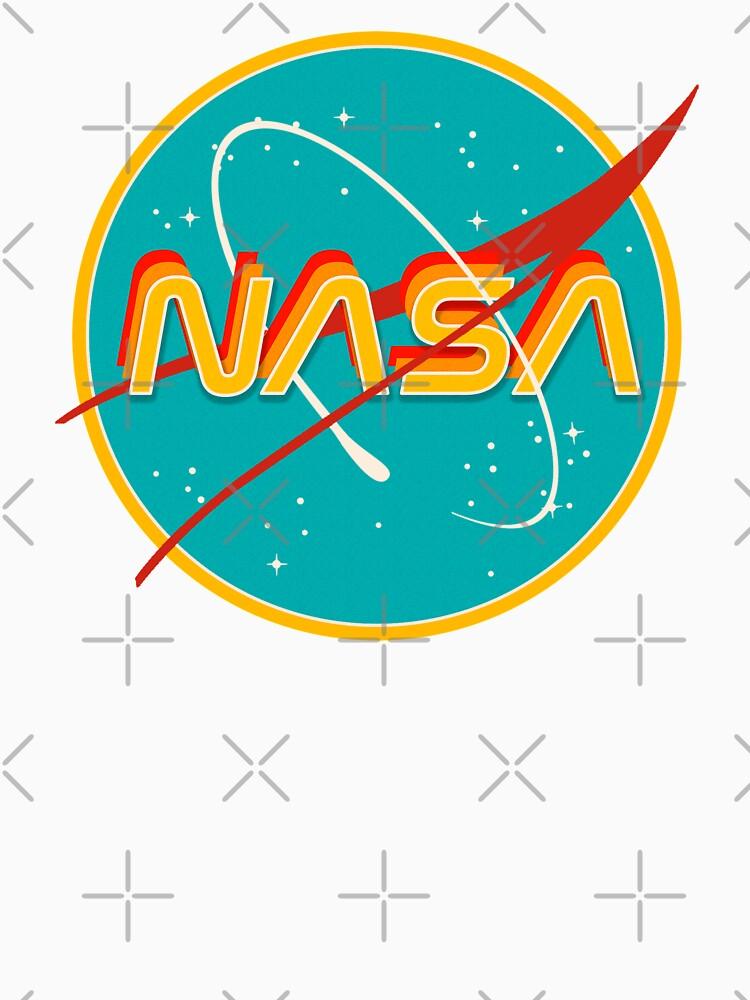 NASA RETRO by r0undincircles