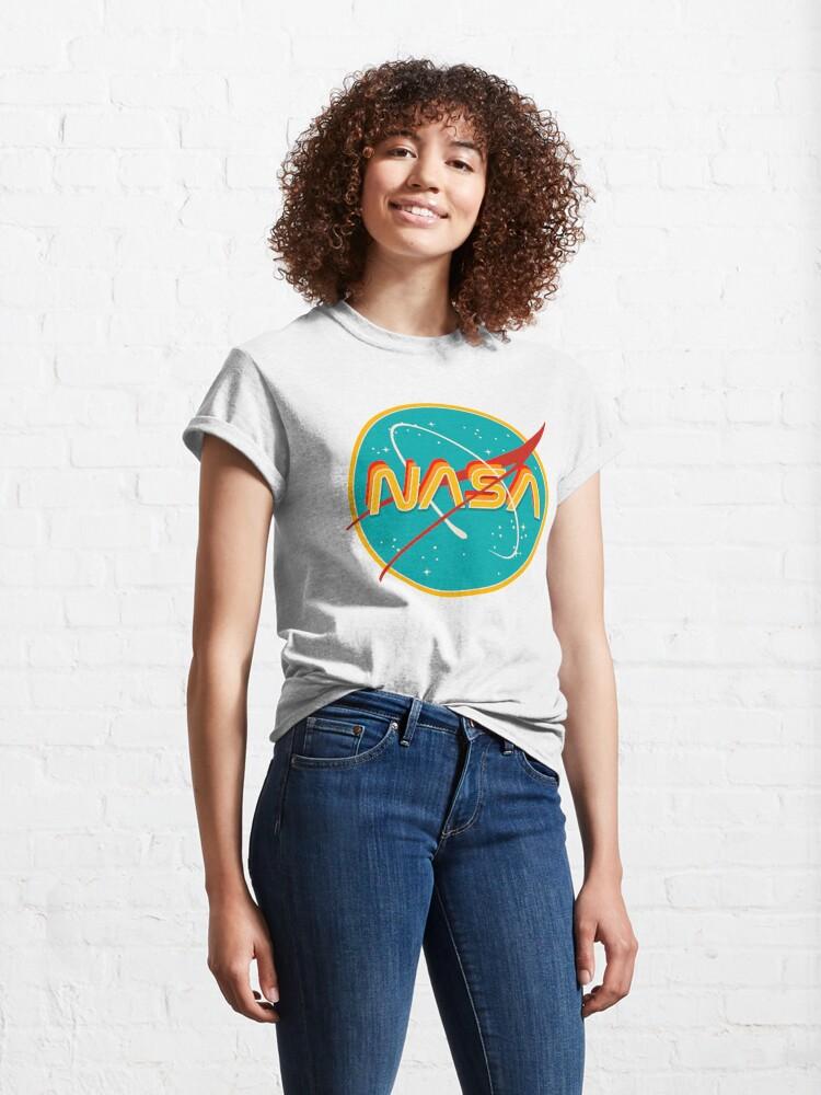 Alternate view of NASA RETRO Classic T-Shirt