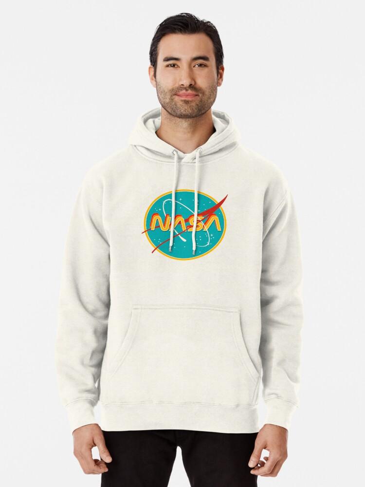 Alternate view of NASA RETRO Pullover Hoodie