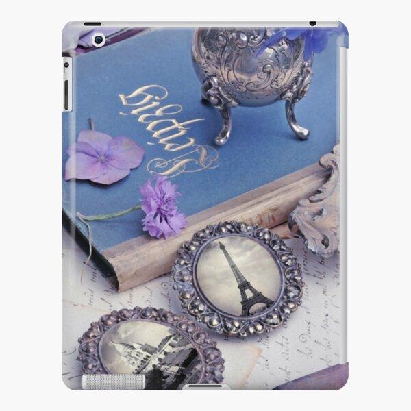 Vintage Blue Paris iPad Snap Case