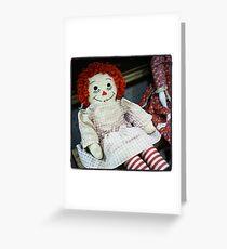Rag Doll Greeting Card