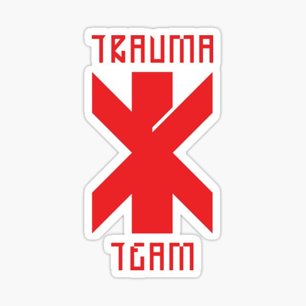 Cyberpunk Trauma Team Sticker