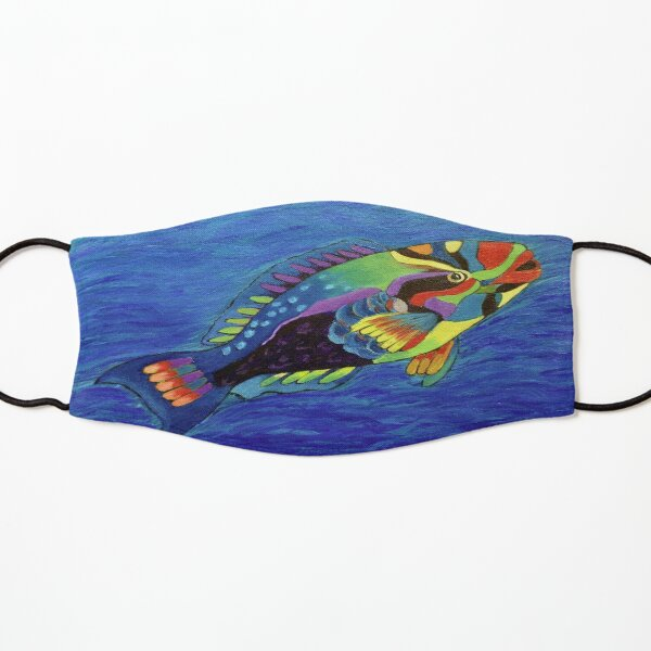 Parrot fish Kids Mask