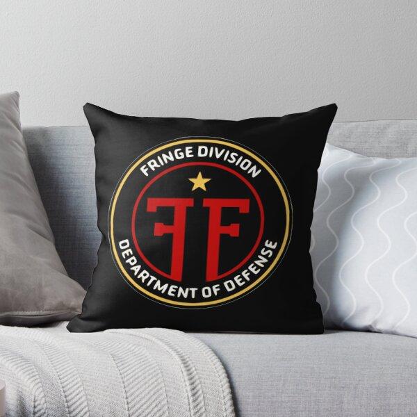 Fringe Division Throw Pillow