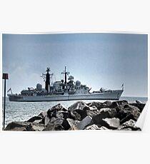 HMS Edinburgh Poster