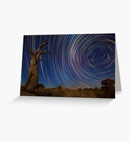Dead Tree Stars II Greeting Card